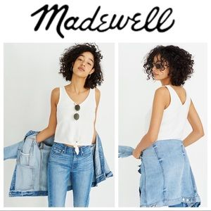 🔥Hot Deal🔥 Madewell Tie-Front Tank Medium